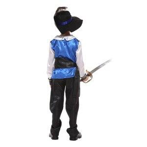 Image 5 - Dzieci dziecko średniowieczny książę król wojownik renesansowy średniowieczny muszkieter krzyżowiec kostiumy dla chłopców Halloween Carnival Party