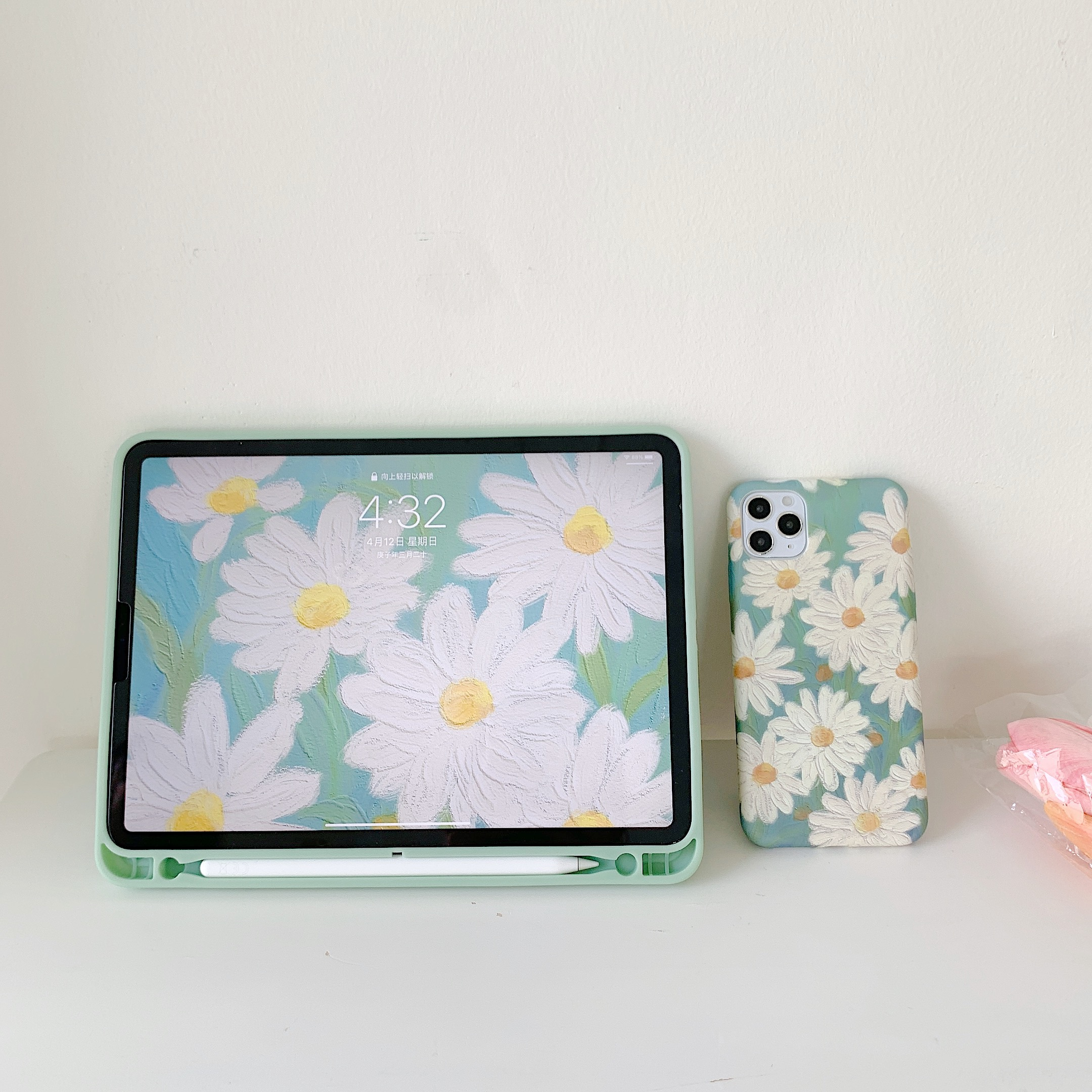 Daisy Flower  Case For Ipad Pro 2020 Air 3 Back Cover 3