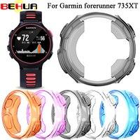 BEHUA-Protector ligero a prueba de golpes para Garmin Forerunner 735XT, Fundas protectoras, accesorios de cubierta ultrafina