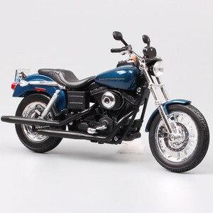 Image 1 - 1/12 ölçekli Maisto 2004 DYNA süper GLIDE spor FXDX motosiklet Diecast model motosiklet oyuncak hatıra hediye minyatür toplayıcı çocuk