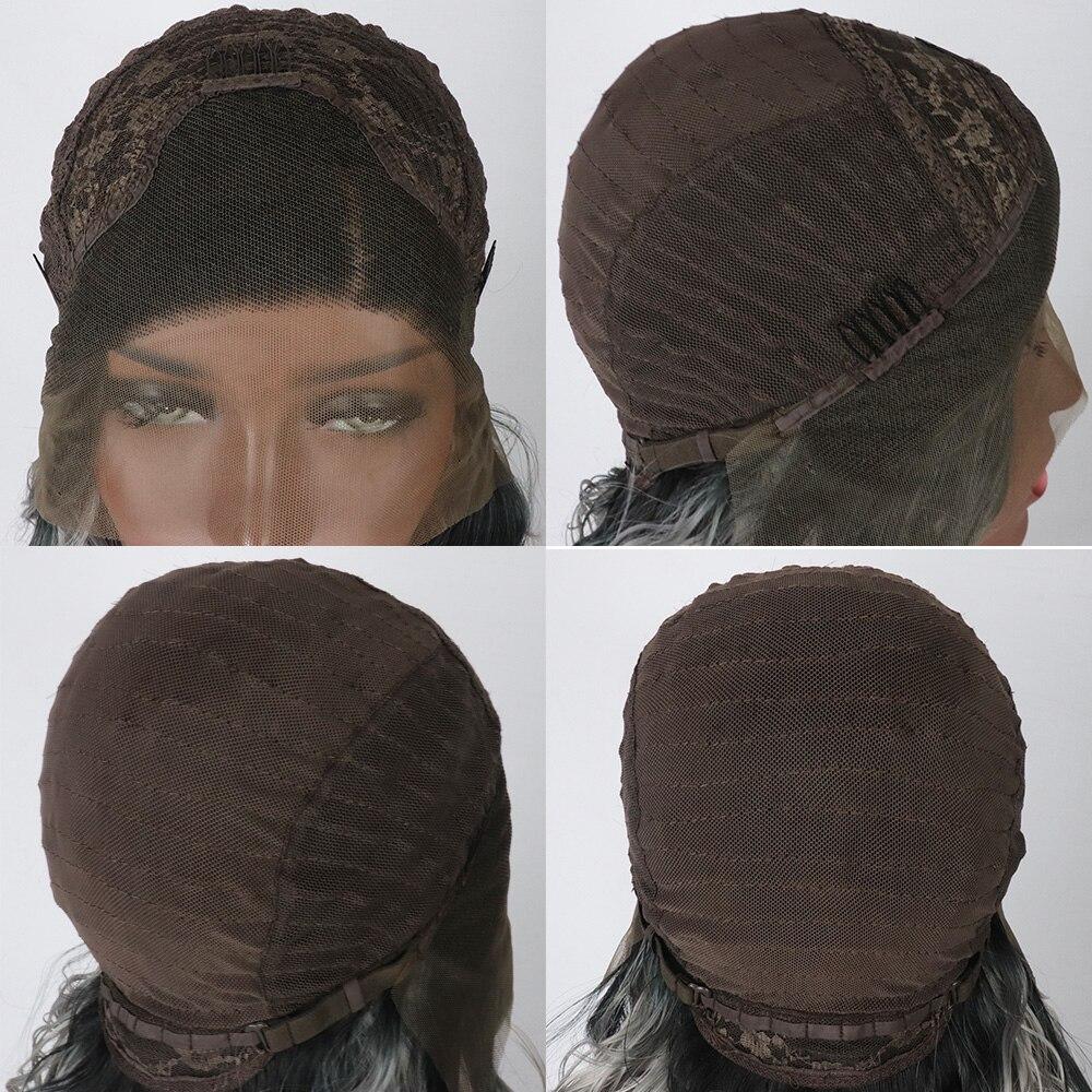 sinteticas da parte dianteira do laco perucas 05