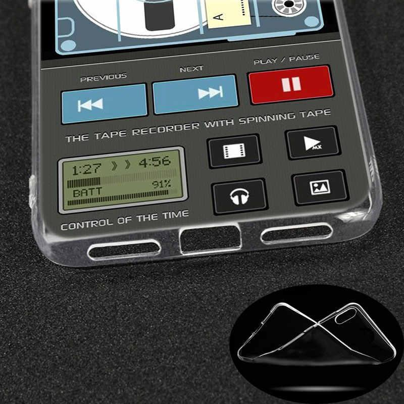 シリコーンケースレトロビンテージカメラカセット音楽 xiaomi Redmi K20 プロ 7 7A 6 6A 4 × 5 プラス s2 行く注 8 7 6 5 プロ 4