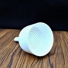 2pcs 90mm Chemistry Laboratory plastic detachable filter funnel,Resistant corrosion buchner funnel for school experiment