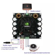 420w tda8954th classe de alta potência ad amp amplificador tda8954 dupla ac 24v mono placa amplificador áudio digital