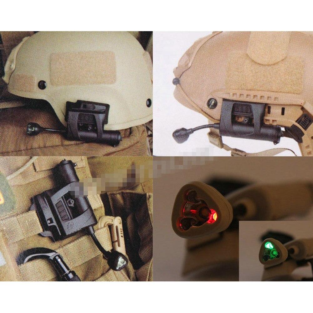 capacete da lâmpada 4 modos de iluminação