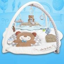 Bambino Soft Play Zerbino Per Neonati Baby Activity Gym Tappeto Multifunzione Bambini Tappetini Educativi Strisciando Tappeto Gioco Animale Zerbino