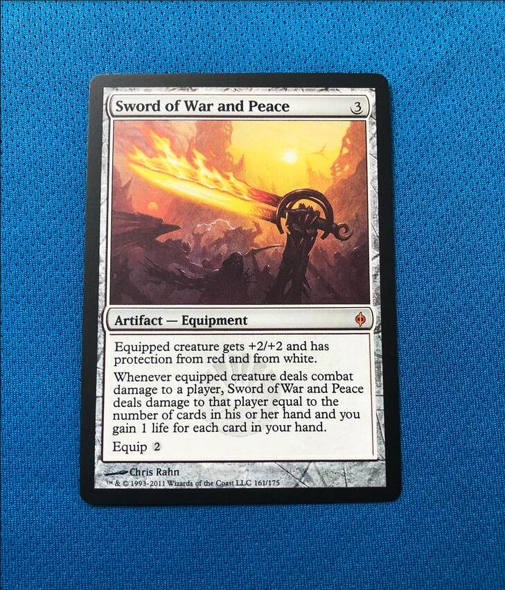 Sword Of War And Peace	New Phyrexia Magician ProxyKing 8.0 VIP The Proxy Cards To Gathering Every Single Mg Card.