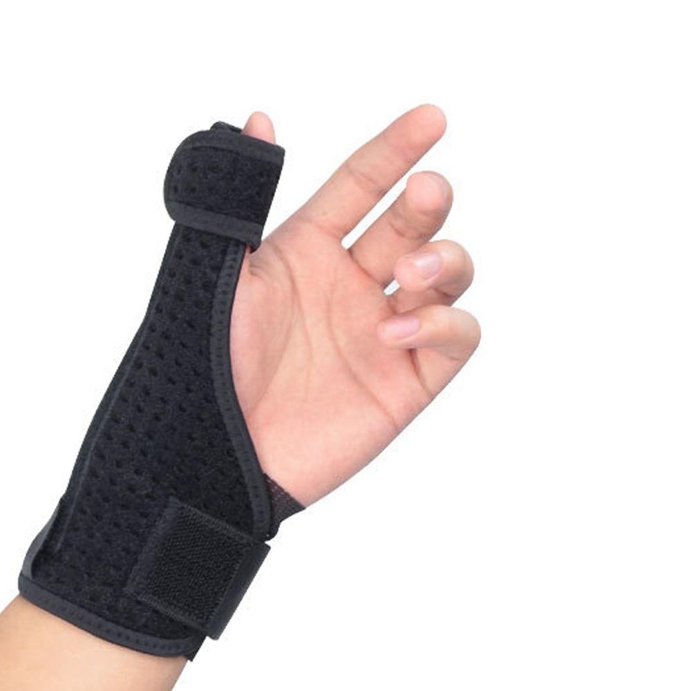1 Pcs Thumb Sprain Protective Wrist  Wraps Tendon Sheath Fracture Sprain  Tenosynovitis Thumb Steel Bar Support Handguards