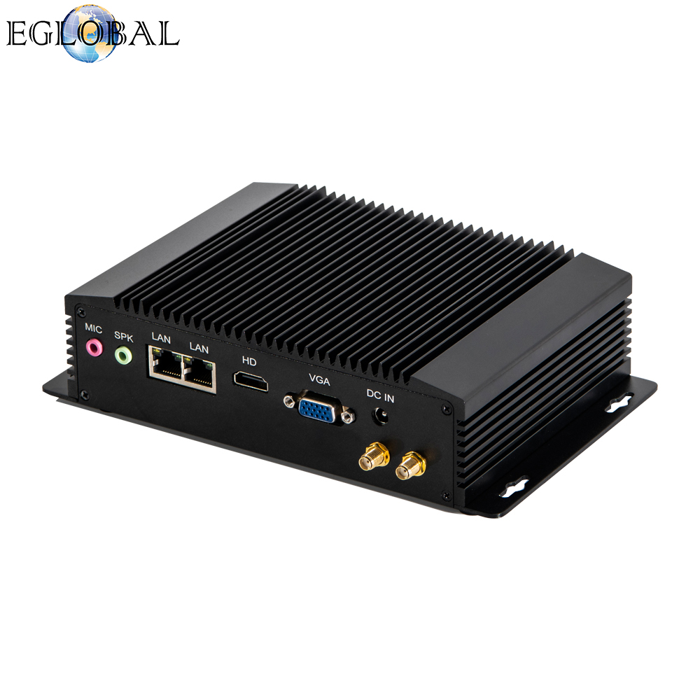 Eglobal Computer Celeron1900 SIM Card Slot  HD+VGA  2LANS  Computer For Watchdog 3G/4G 300M WiFi Tablet Pc