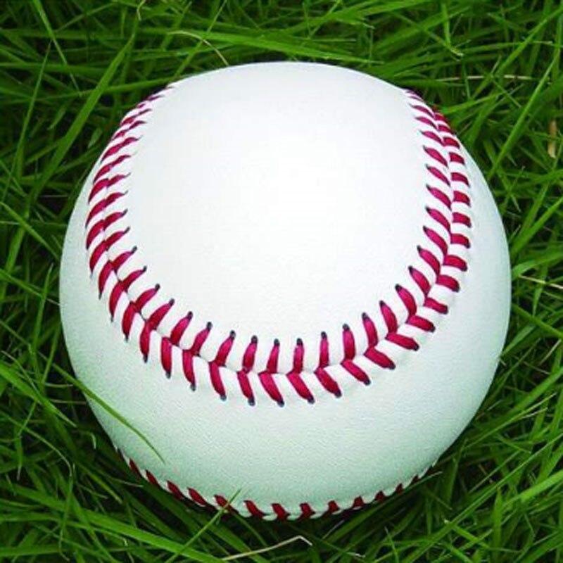 High Quality Handmade Baseballs PVC Upper Rubber Inner Soft Baseball Balls Softball Ball Training Exercise Baseball Balls