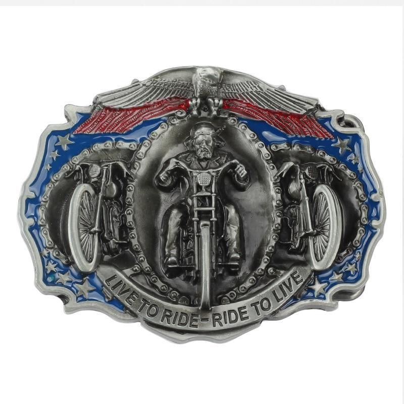 High Quality Cool Aztec Calendar Men's Metal Belt Buckle Fit 3.8cm Wide Belt Jeans Accessories
