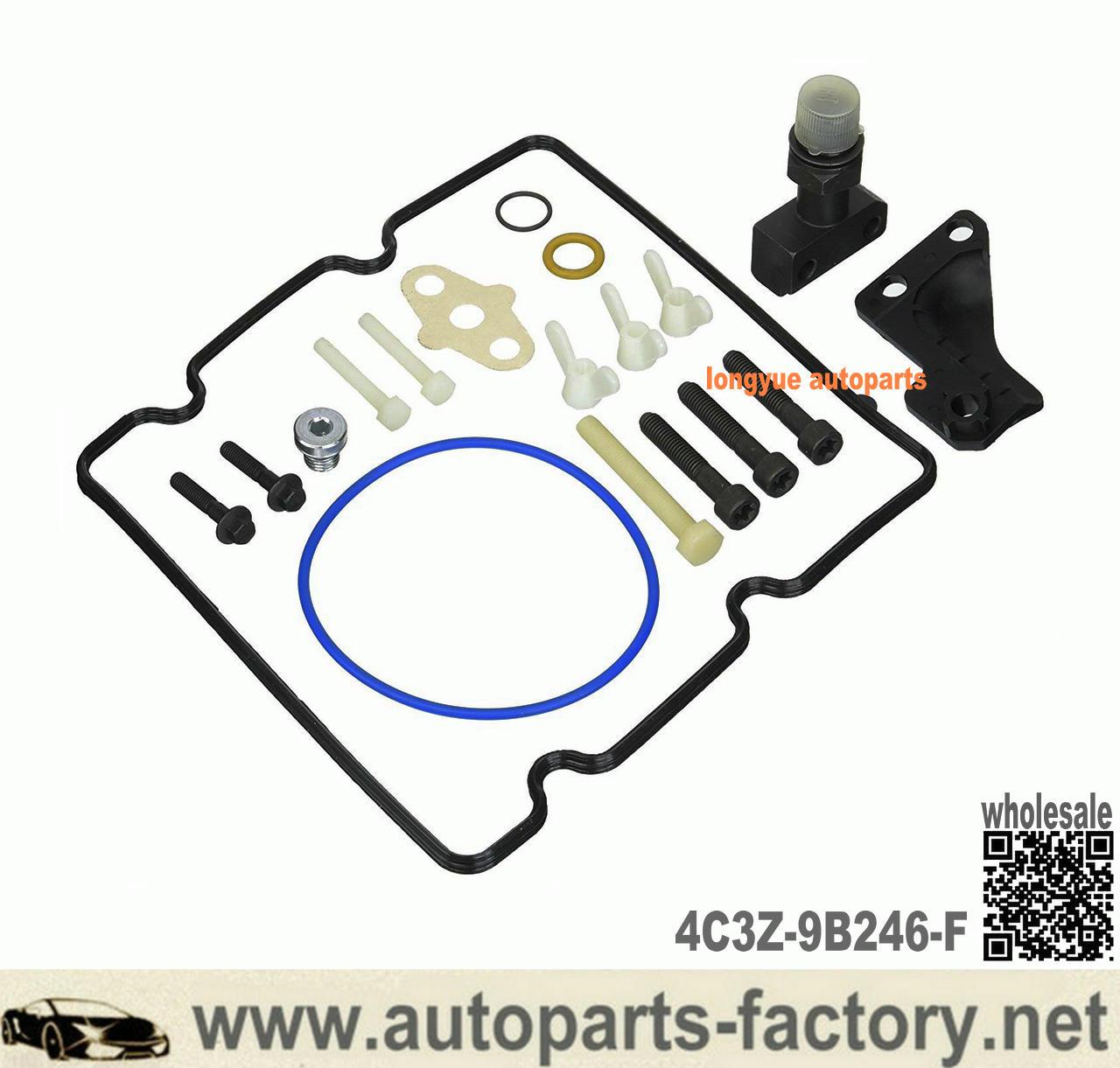 Longyue Ford 6.0l Powerstroke Diesel STC HPOP Fitting Upgrade Kit Ipr Screen 4C3Z-9B246-F / 4C3Z9B246F / 9B246 - 6.0 PSD