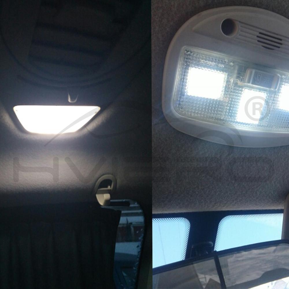 Купить с кэшбэком 2Pcs White Red Blue 24 Smd Light Panel Auto Interior Reading Map Lamp Bulb Light Dome Festoon BA9S 3Adapter DC12v Reading Lights