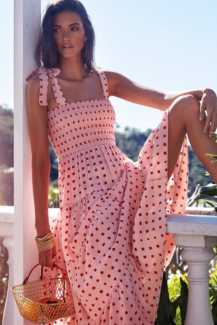Fashion Summer Women Dress Square Neck Sling Print Sexy Halter Beach Dress Women's Casual Holiday Dresses 2021 New Vestidos 1