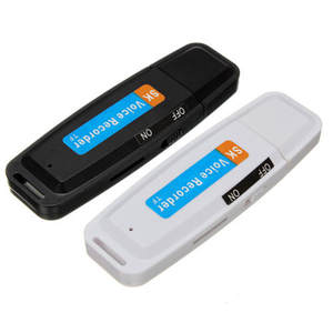 Mini U-Disk Digital o Recorder USB 3.0 Flash Drives Maximum Support 32GB Memory Card