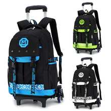 26L toczenia mężczyźni bagażu podróży plecak na ramię Spinner plecaki duża pojemność koła do walizka na kółkach bagaż podręczny teczka torba tanie tanio Aequeen Other zipper Wszechstronny 19cm Miękkie 46cm Plaid Moda Nylon+Alloy+ABS 2 1kg 30cm Podróż torba