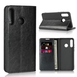 Image 2 - Natuurlijke Lederen Skin Flip Wallet Boek Telefoon Case Op Voor Huawei Honor 20 S 20 S Honor20s 2019 Global MAR LX1H 4/6 128 Gb