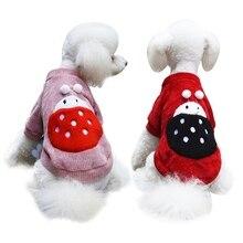 Зимняя одежда для собак, для маленьких собак, чихуахуа, йоркширского мопса, милая одежда с божьей коровкой, теплая одежда для собак, куртка для щенков, Ropa Perro