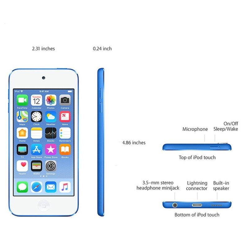 Б/у Apple Ipod Touch 6 MP3/4, сенсорный экран 4,0 дюйма, Встроенные динамики, 16/32/64/128 ГБ, воспроизведение музыки видео с FM электронной книгой
