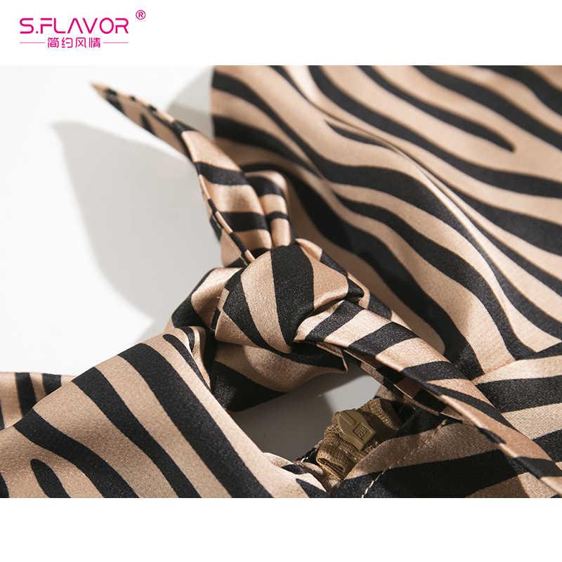 S. smaak Vrouwen Zebra Gestreepte Lange Zonnejurk Strapless Strik Elegante Sexy Jurken 2020 Zomer Party Dress Robe Femme