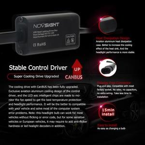 Image 5 - NOVSIGHT D1 D2 D3 D4 S/R 9005 HB3 LED Auto Scheinwerfer 13600LM 90W Led Nebel Licht Lampen lampen 6000K