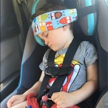 Ceinture de fixation pour siège de voiture pour bébé, soutien tête pour enfants, jouets réglables, positionneur de sommeil, oreillers de sécurité pour bébés