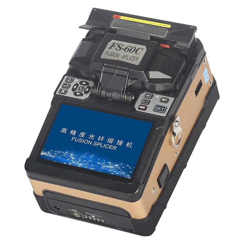 FS-60C Золотой автоматический сварочный аппарат волоконно-оптический сварочный аппарат машина для сращивания оптического волокна
