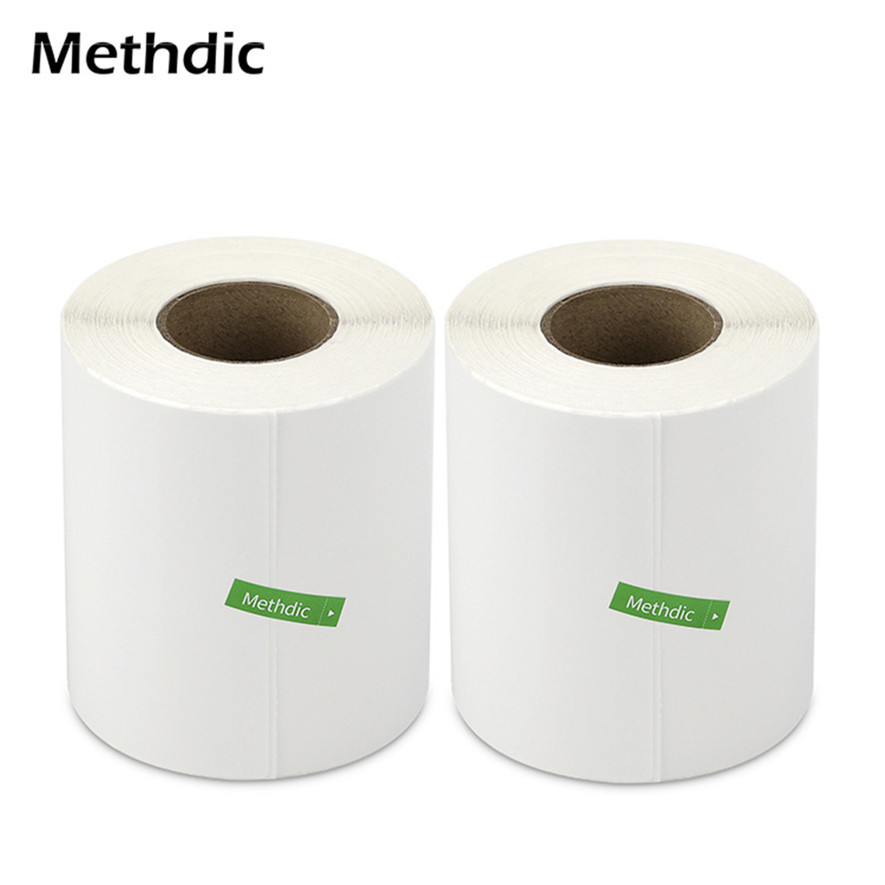 4 X 6 Direct Thermal Label 2 Rolls White Blank Shipping Labels