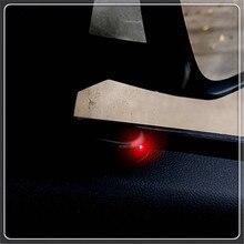 Solar USB Alarm samochodowy światła Anti Theft ostrzeżenie Flash dla AUDI A3 Mercedes Benz klasy A Clase w KIA SPORTAGE