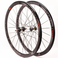 BMX Road Bike Bicycle wheelset 700C 40mm fixed gear wheel track bicycle Carbon Hub Aluminum alloy rim wheelset