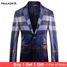 2019 Autumn And Winter New MenS Blazer  High Quality Business Casual Fashion Trend Wild Clothing