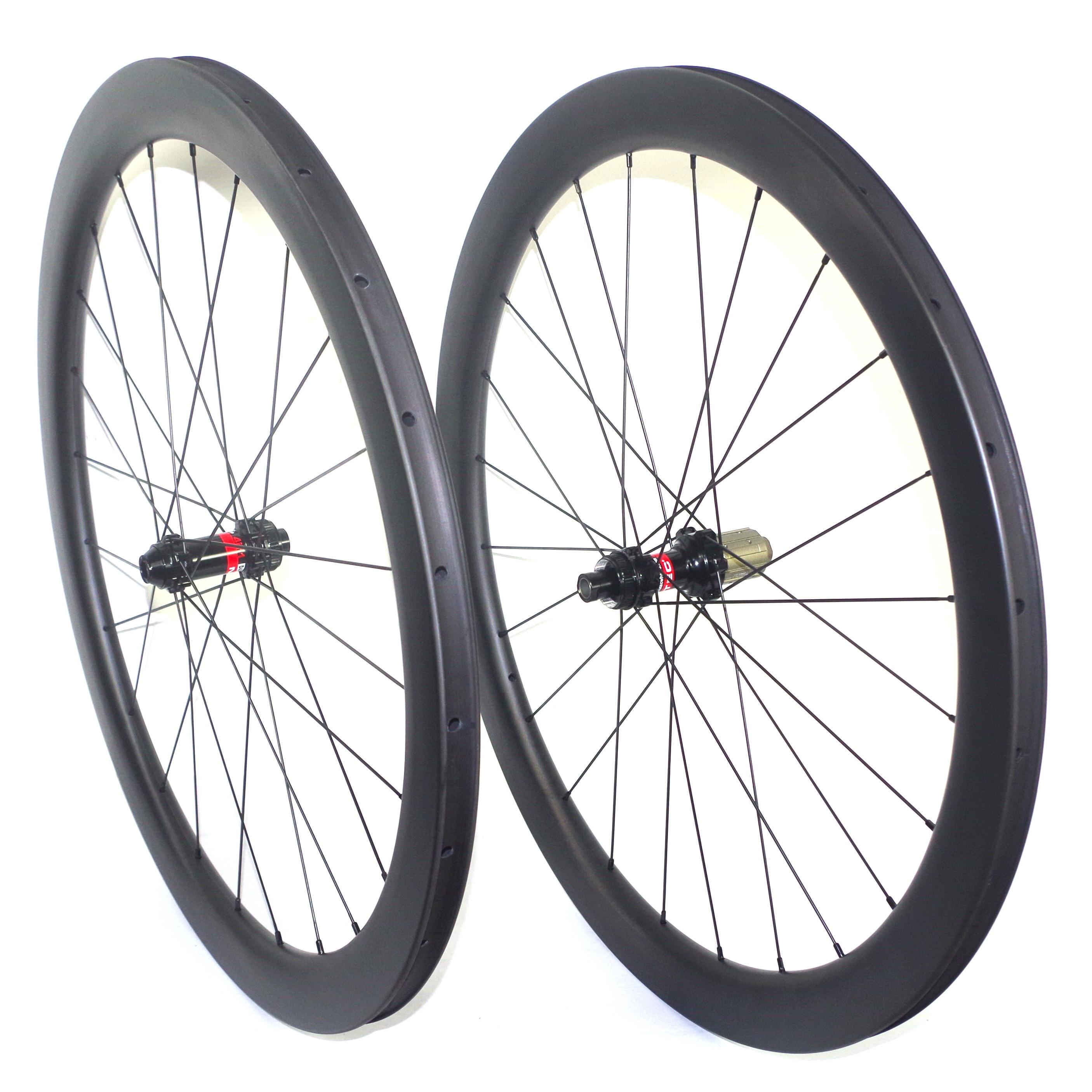 Carbon Wheelset 700C Clincher Disc Brake 88mm Carbon Road Cyclocross Bike Wheels