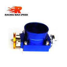 high quality aluminum Performance type throttle body Intake Manifold 70mm 80mm 90mm Throttle Body MP-TB цена