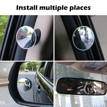 Blind-Spot-Mirror Car-Accessories Rear-View-Mirror Wide-Angle Convex HD for Frameless