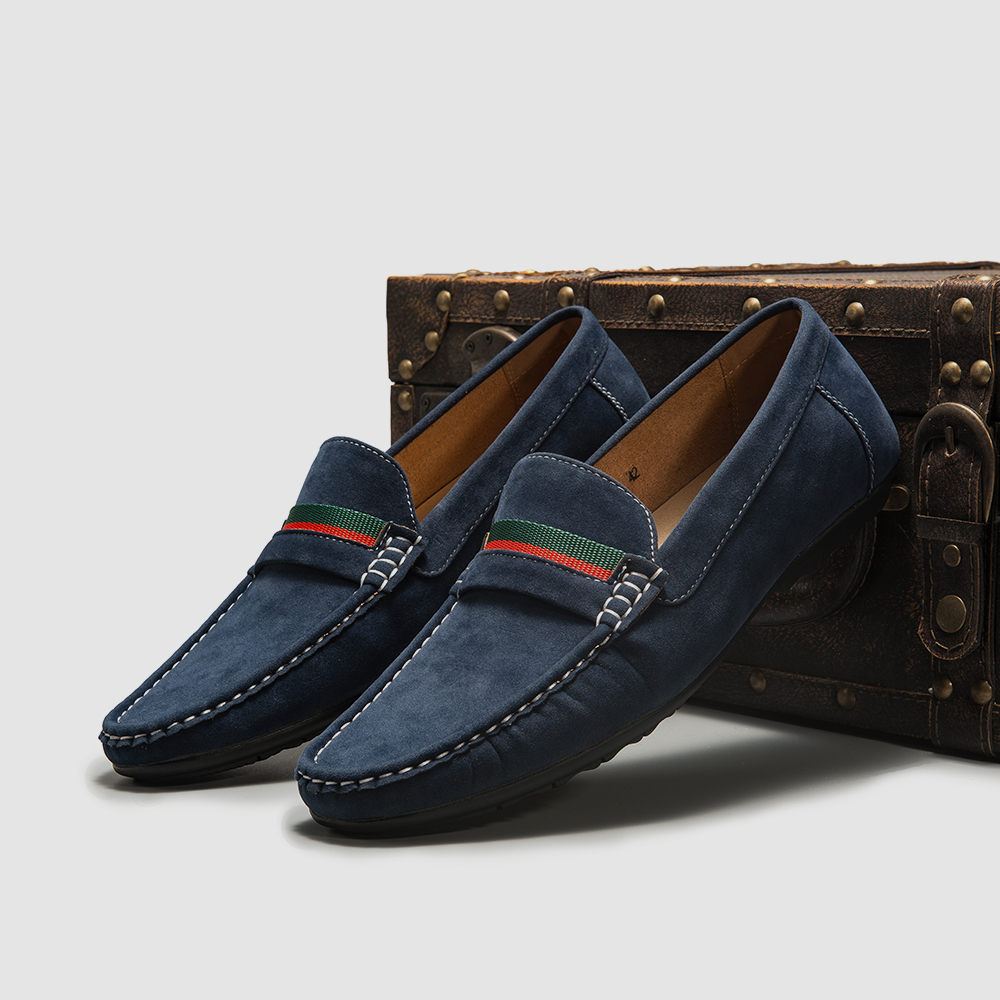 Men Loafers shoes 2020 Fashion Men's Flats Comfy Slip-on Fashion Autumn Moccasins Male Footwear Brand Men Casual Shoes Men Shoes 6
