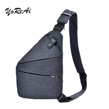 boys crossbody bags for men messenger chest bag pack casual bag waterproof nylon single shoulder strap pack 2019 new fashion Men's Chest Pack Bags Single Unisex Travel Breast Bag Waterproof Nylon Crossbody Bags Fashion Pack Casual Sling Packs