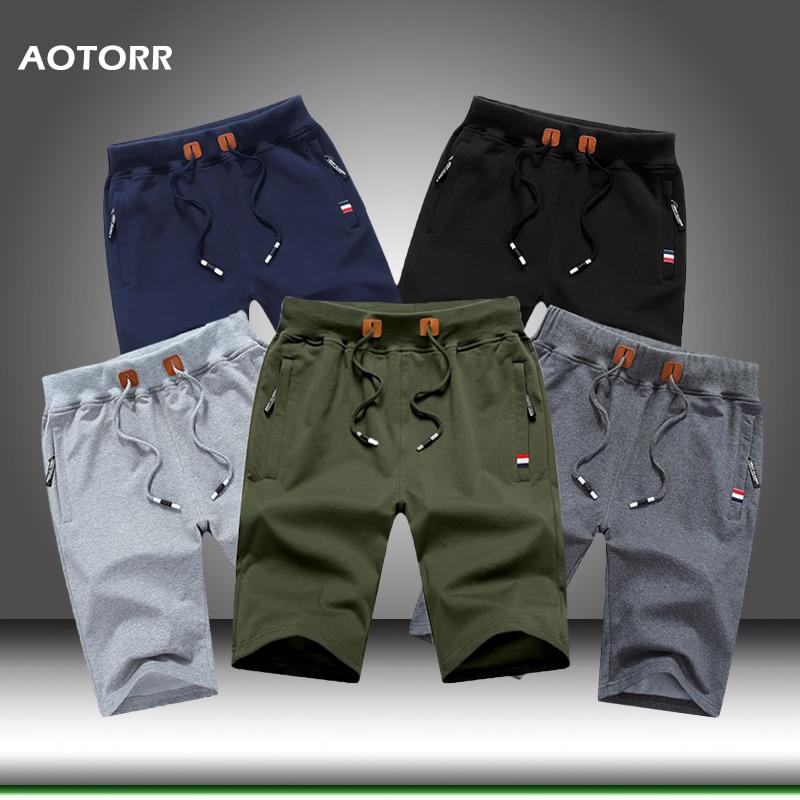 2020 sommer Neue Männer Bodybuilding Shorts Mens Casual Shorts Baumwolle Marke Fashion Solid Farbe Boardshorts Atmungs Plus Größe 5XL