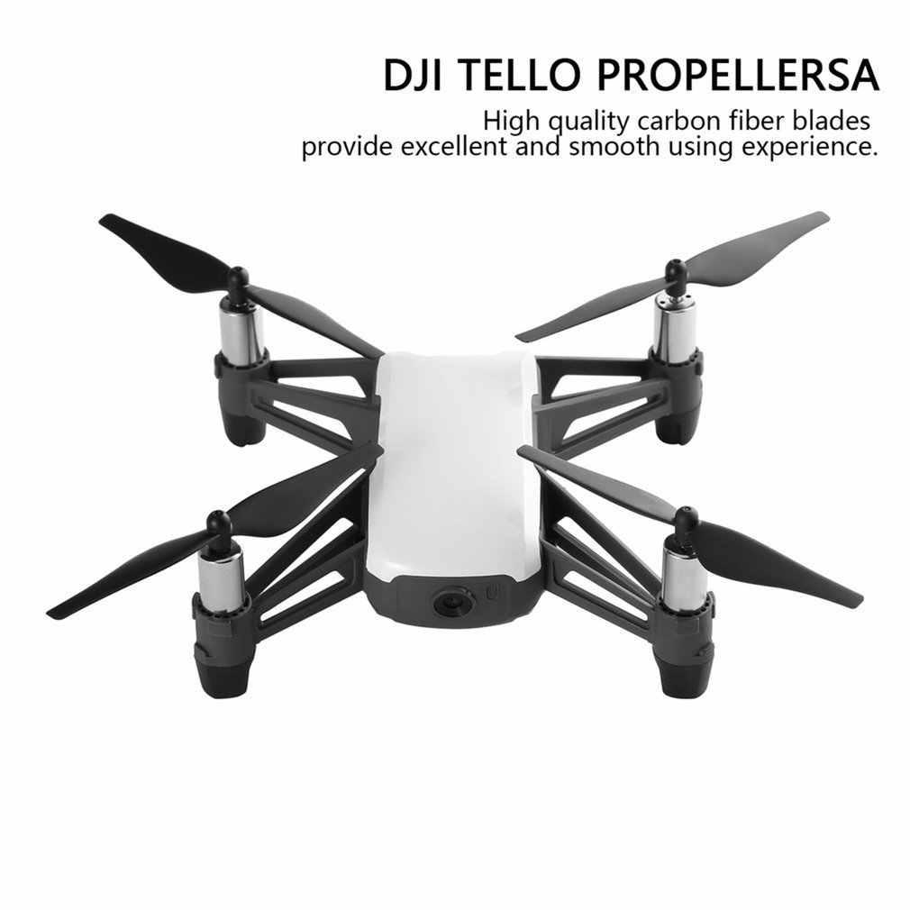 4PCS מהיר שחרור Drone מדחפים לdji Tello מיני Drone מדחף CCW/CW אבזרי חילוף חלקי Drone אבזרים