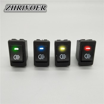 Automobile and Motorcycle Fog Light Switch LED ASW-17D 12V 35A 4Pin - sale item Electrical Equipment & Supplies