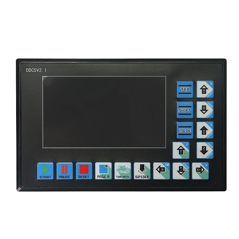 DDCSV2.1 Numerical Control System U Disk Read G Code Engraving Machine Controller Movement System  V1.1 Upgrade
