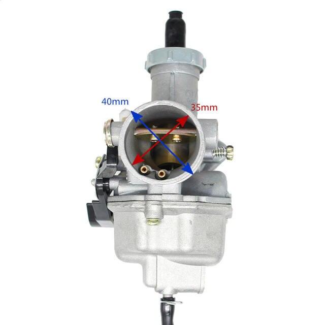 Hoge Kwaliteit Pz27 Mm Kabel Choke Carburateur 125 150 200 250 300cc Atv Quad Go Kart PZ27 Motorfiets Carburateur Zonder handvat