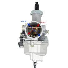 Yüksek kaliteli pz27 mm kablo Choke karbüratör 125 150 200 250 300cc ATV Quad Go Kart PZ27 motosiklet karbüratör olmadan kolu