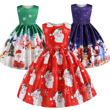 Christmas Dress Kids Girls Halloween Dresses