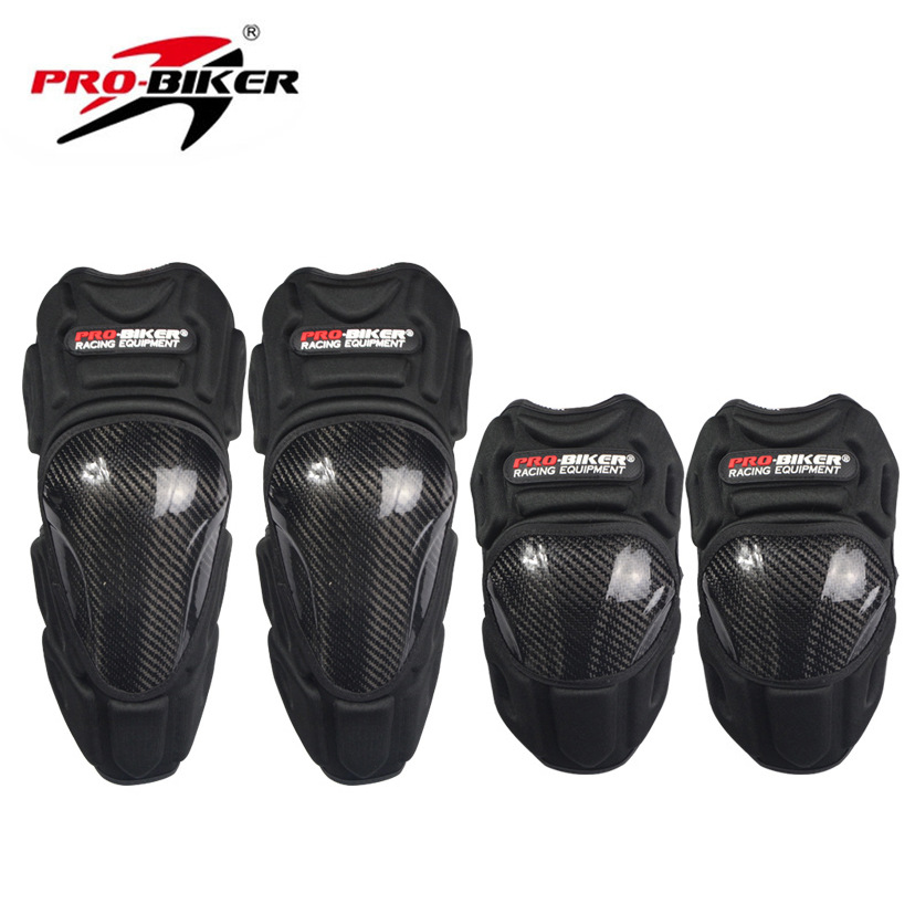 Motorcycle Kneecap Carbon Fiber Protective Clothing Race Car Off-road Knight Shatter-resistant Windproof Legguard Elbow Guard Ri