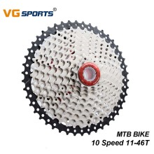 VG Sports Cassette 10 Speed Freewheel Sprocket 11-46T Mountain MTB Bicycle Cassette Flywheel for Shimano Sram Bike Parts bicycle mtb freewheel 11 32t 36t 40t 42t 46t 50t sprockets 8 9 10 11 speed cassette mountain bike flywheel cog