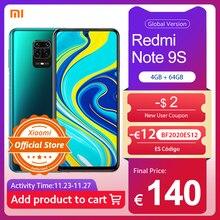 Xiaomi Redmi Note 9S Note 9 S 4GB 64GB Global Version Smartphone Snapdragon 720G Mobile Phone Octa Core 5020mAh 48MP Quad Camera
