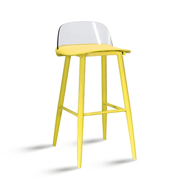 Bar Chair, Nordic Modern Simple Leisure Chair, High Chair, High Stool, Creative Fashion, Plastic Bar Stool, Bar Chair