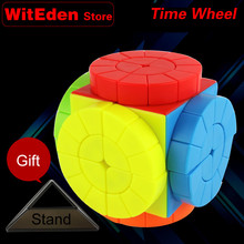 Time Wheel Magic Cube Speed Twisty Puzzle Brain Teasers Challenging Intelligence Educational Toys For Children brain trainer intelligence toy 3 x 3 x 3 star magic cube