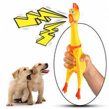 Get more info on the Screaming Shrilling Squeeze Chicken Toy Durable Rubber Squawking Chicken Stress Relief Anti-Anxiety Practical Jokes Toy DM118
