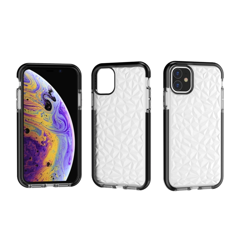 Diamond Shockproof silicone Case for iphone 11 11Pro Max XR XS XS Max for iphone 6 6s 7 8 Plus Clear Protective shell iphone xs max girly cases